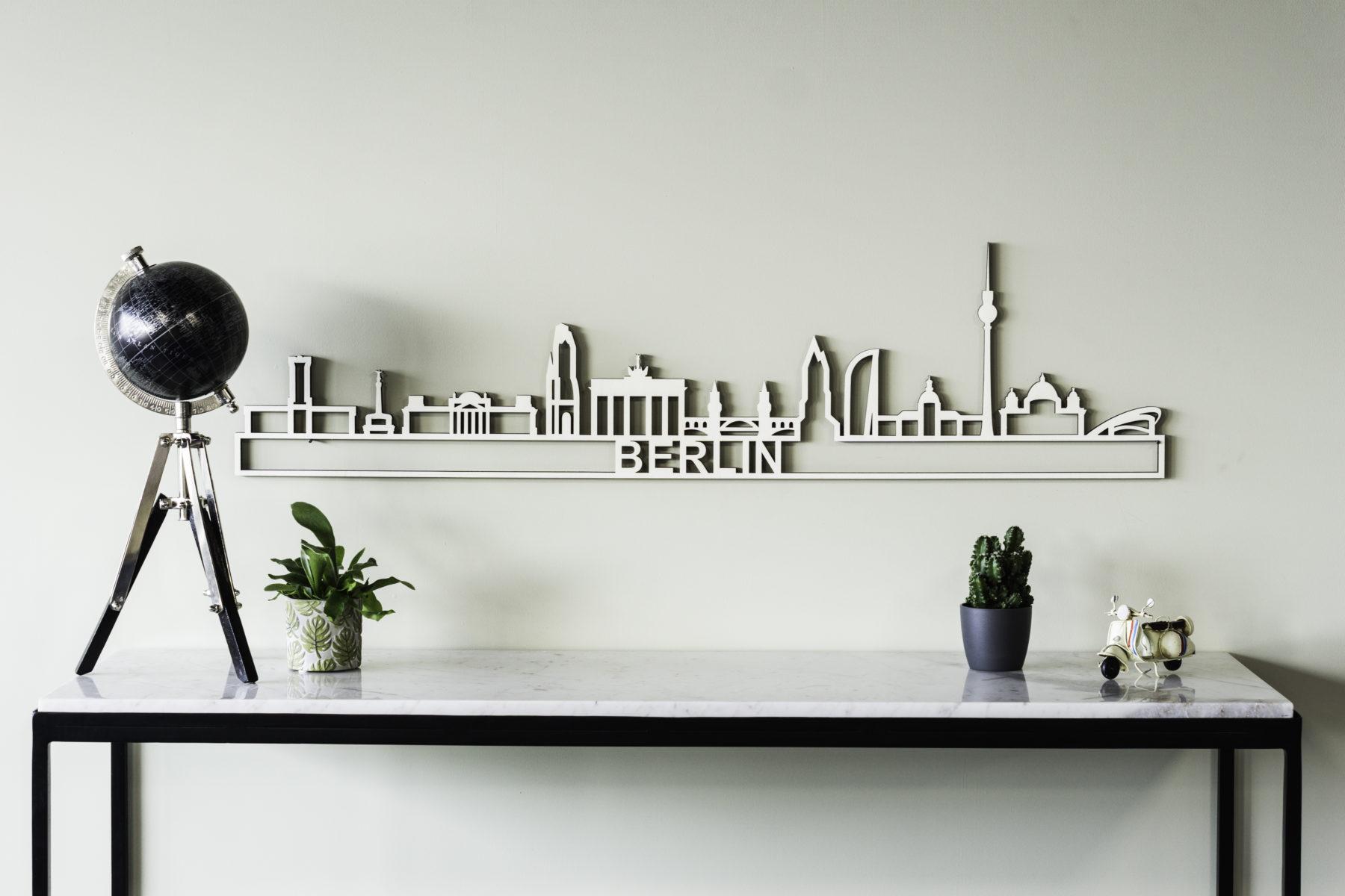 Skyline Berlin hout