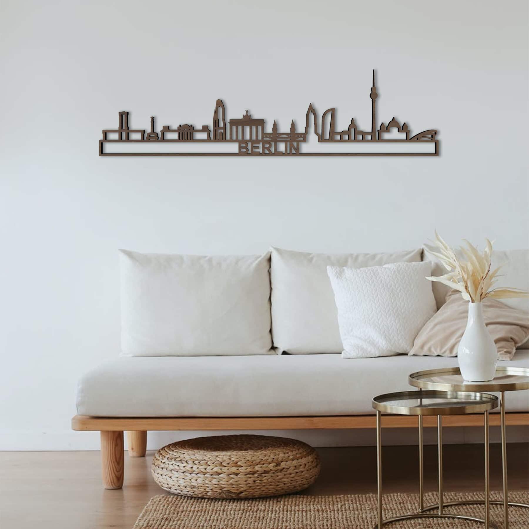 Skyline Berlin notenhout