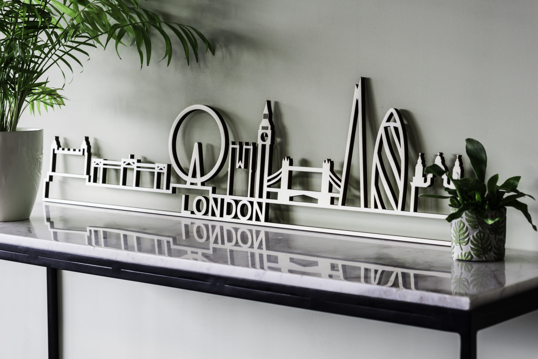 skyline London hout