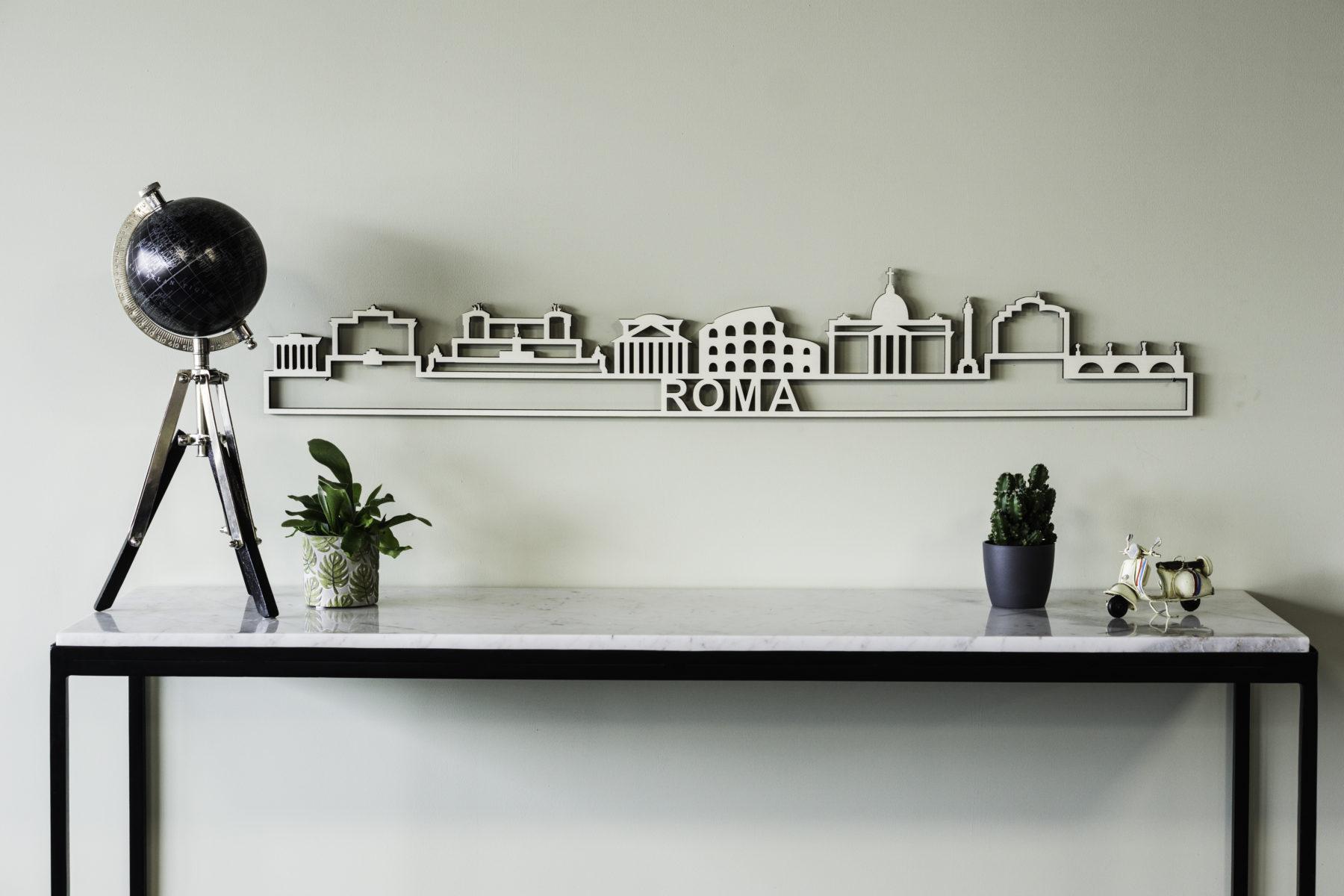 Houten skyline Roma