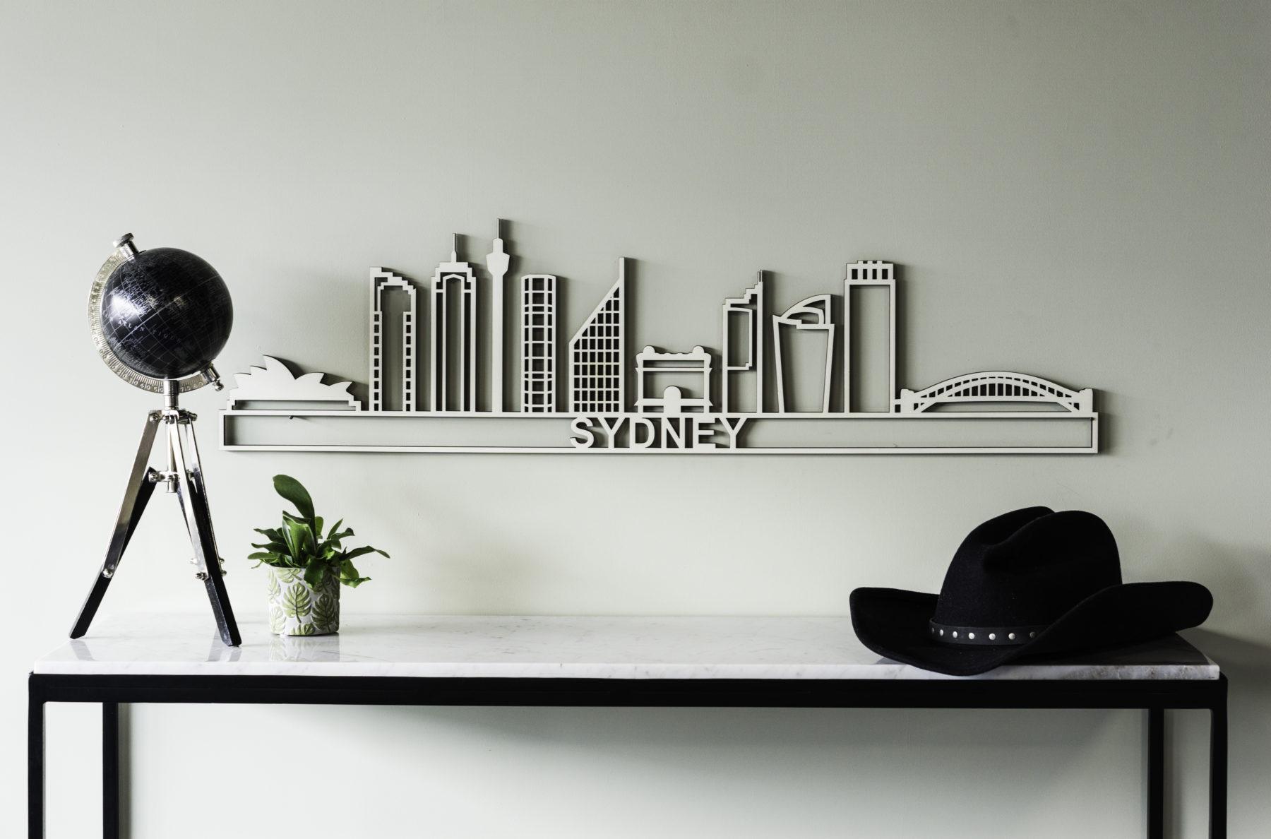 Sydney skyline hout