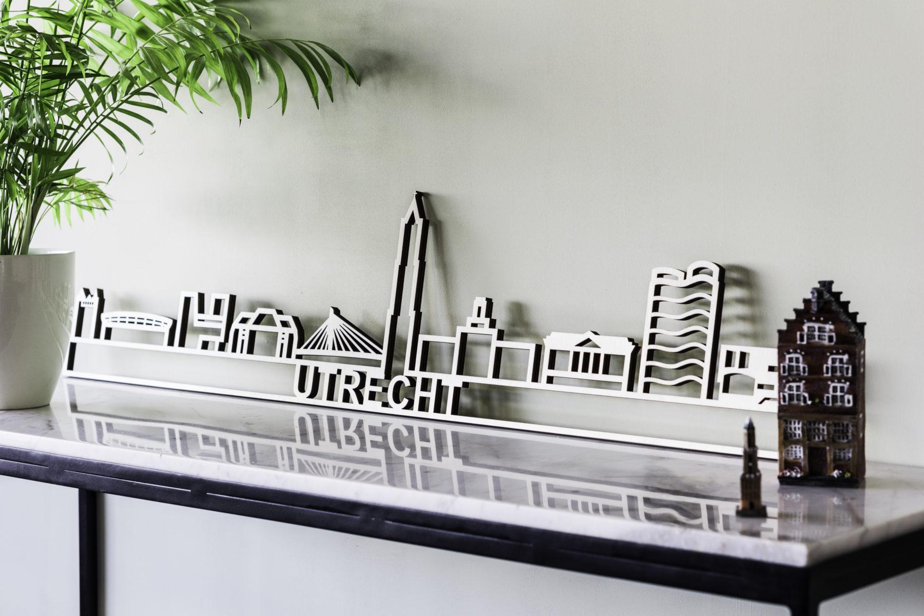 Utrecht skyline hout