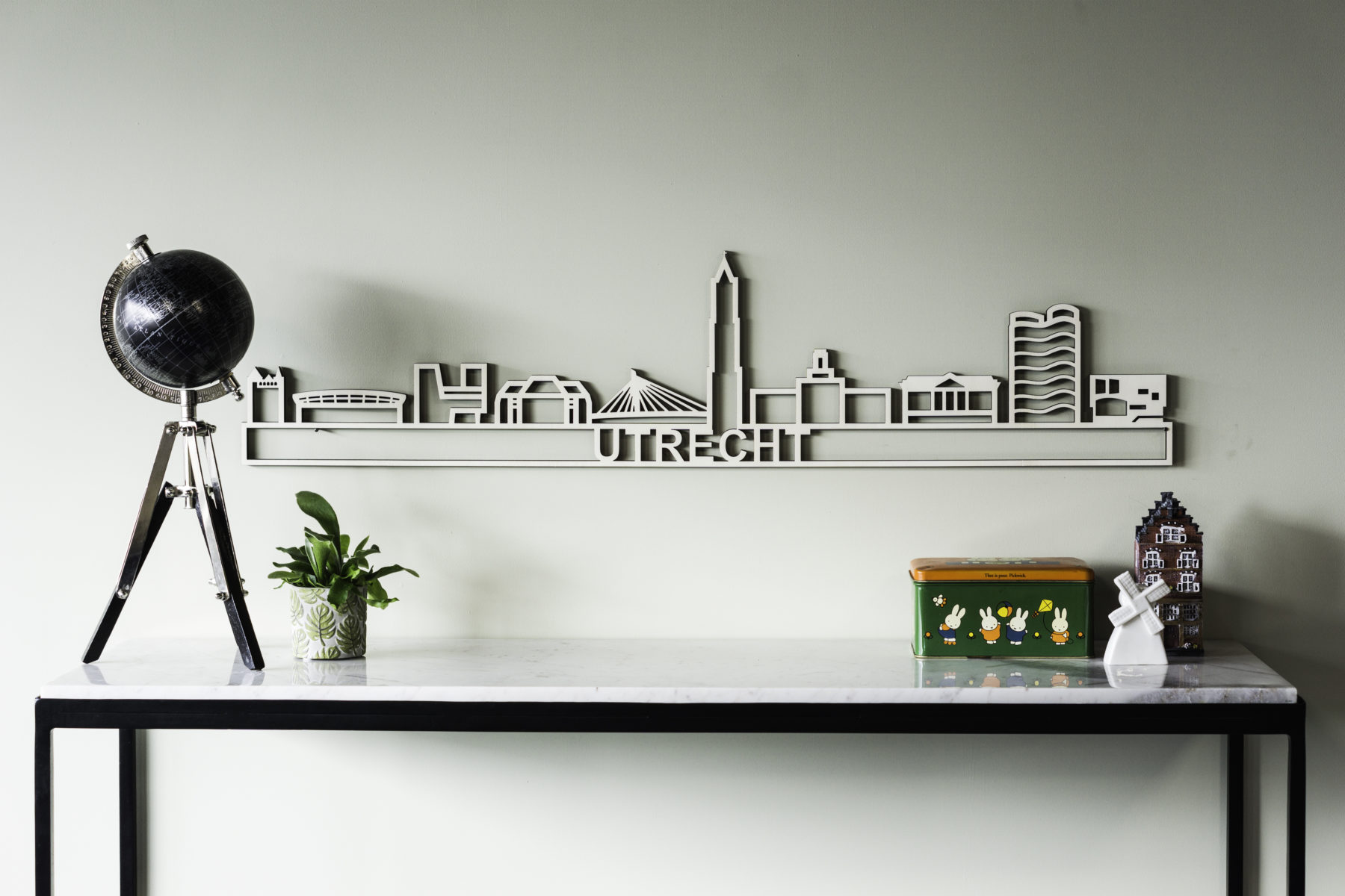 Houten skyline Utrecht