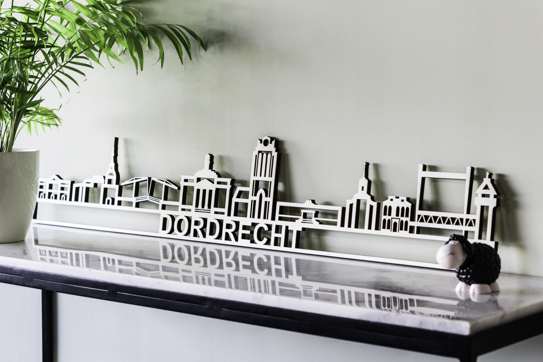 Skyline Dordrecht hout