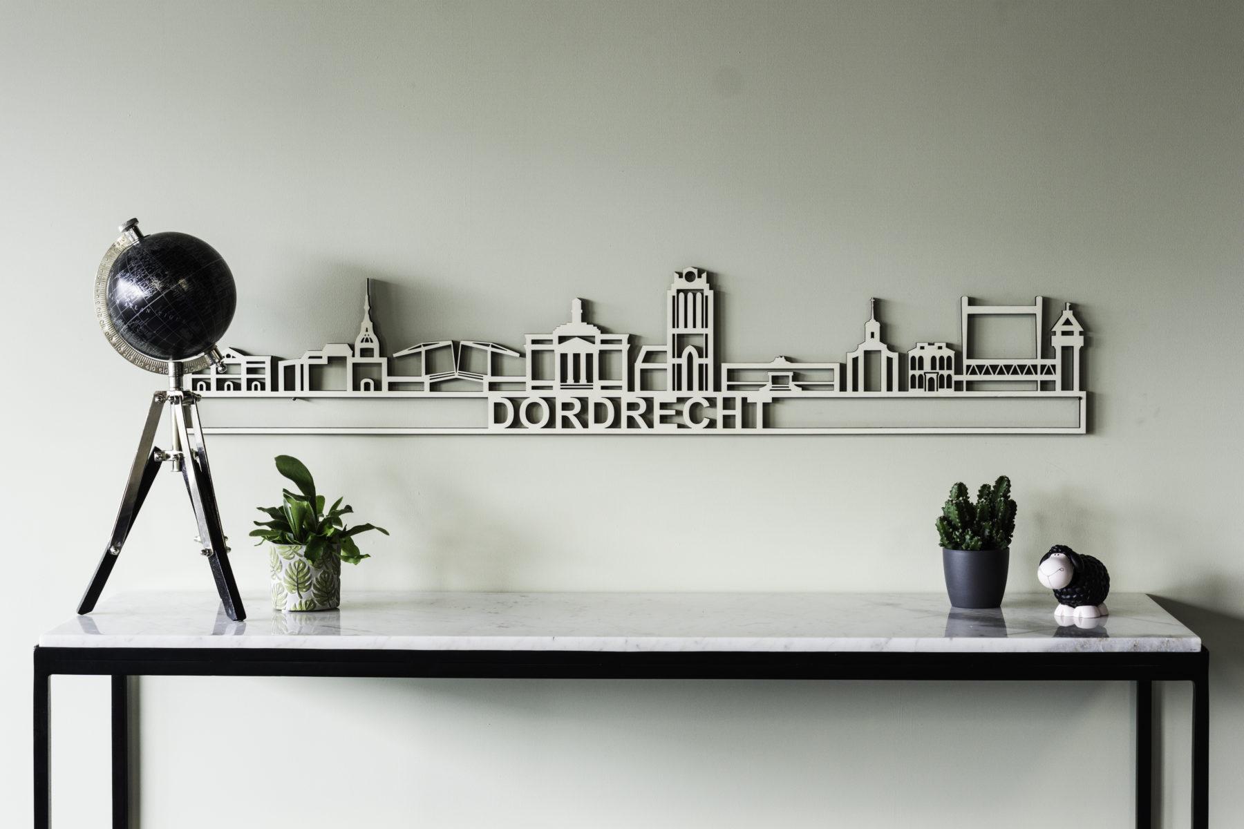 Houten skyline Dordrecht