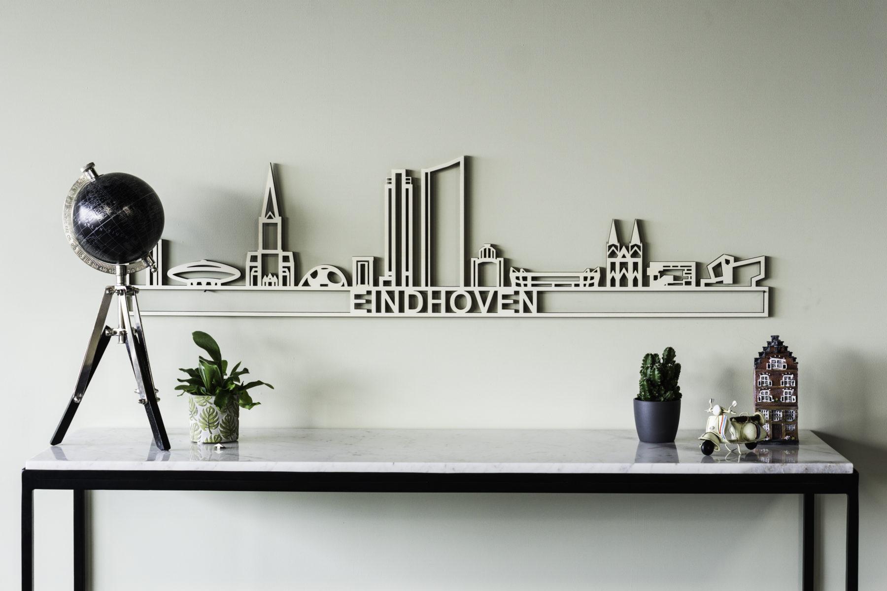 Houten skyline Eindhoven