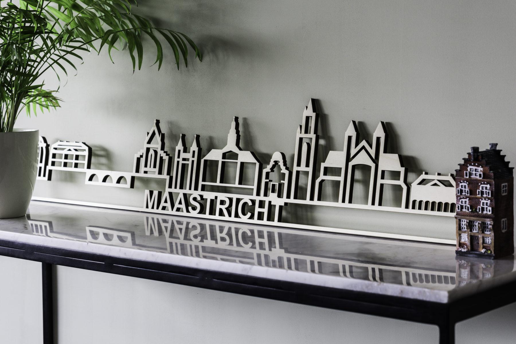 Houten skyline Maastricht
