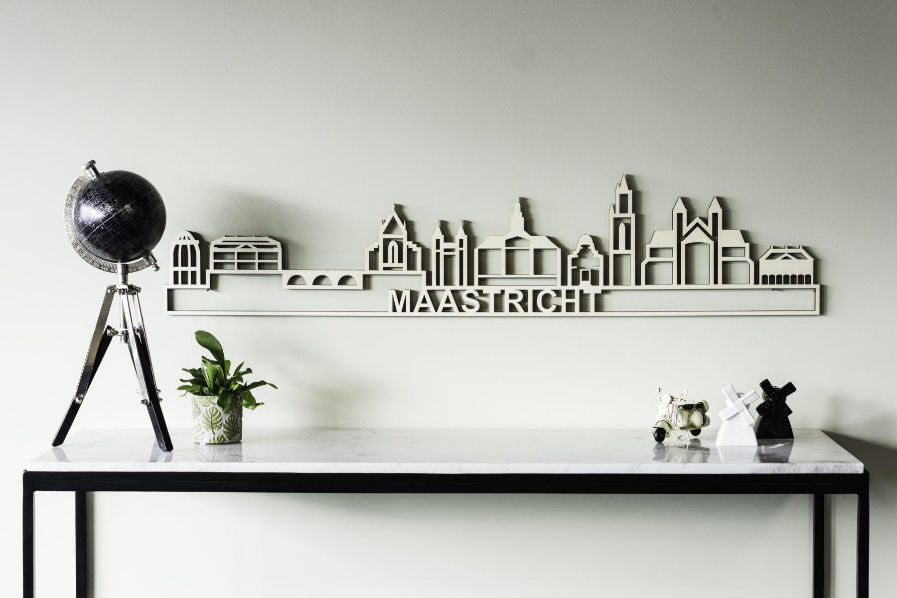 Skyline Maastricht hout