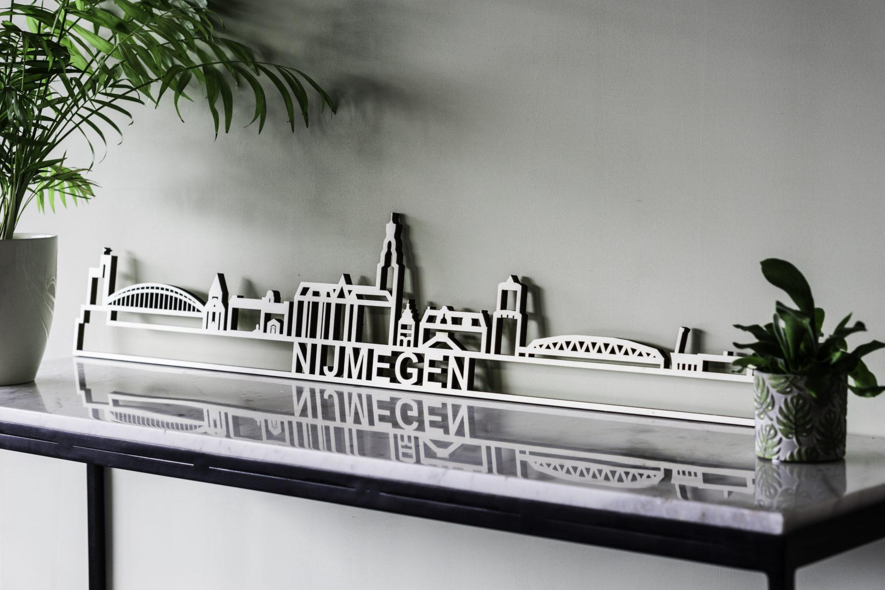 Skyline Nijmegen hout