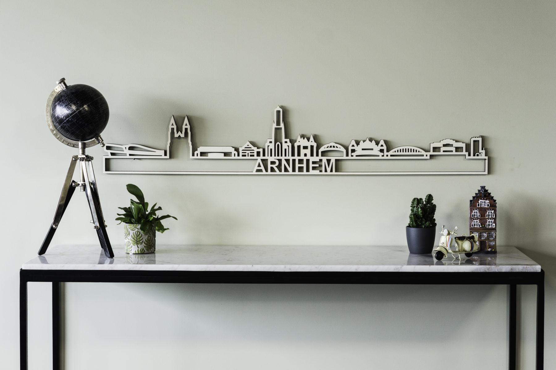 Houten skyline Arnhem