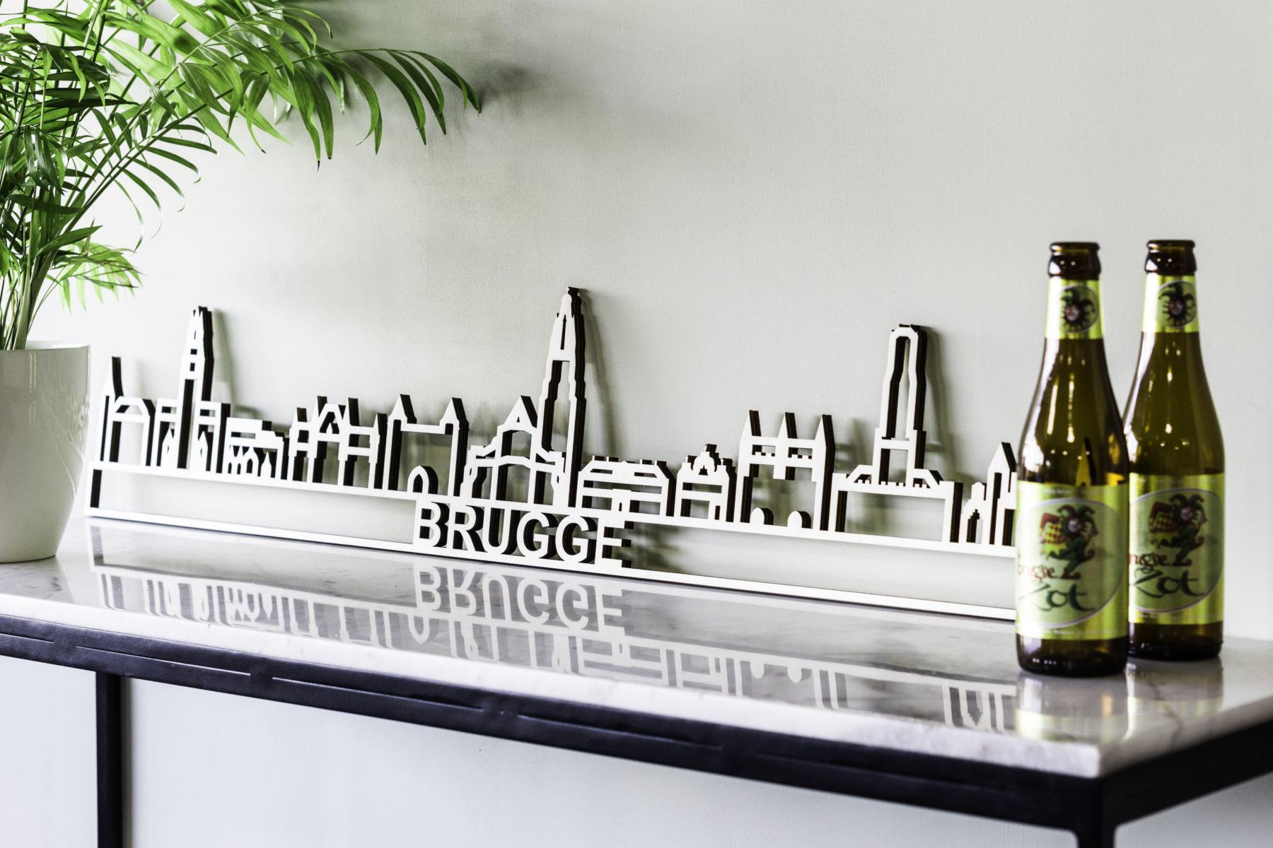 Houten skyline Brugge