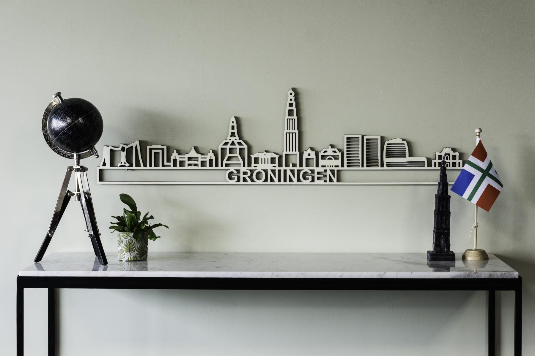 Skyline Groningen hout