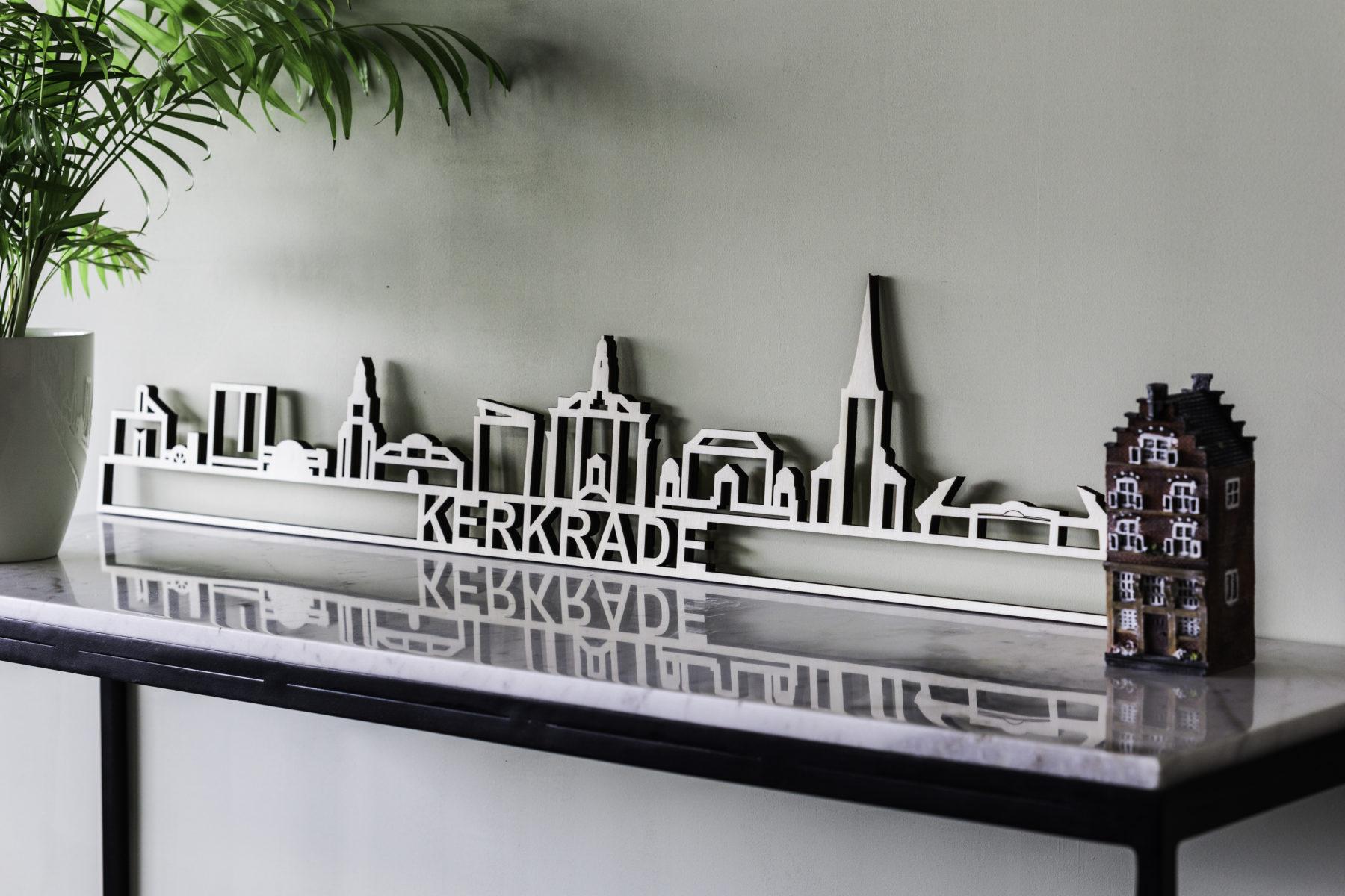 populieren houten skyline Kerkrade