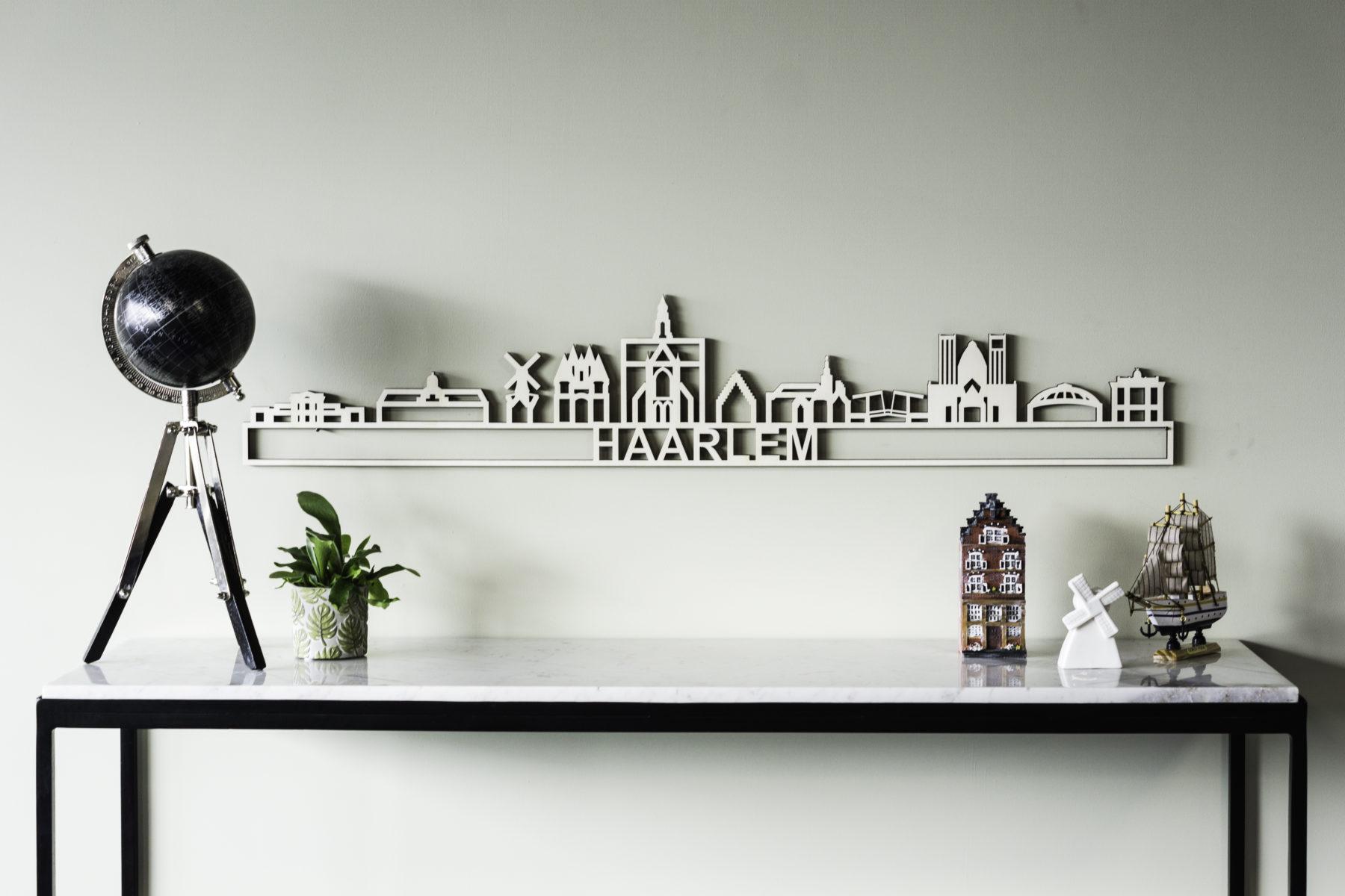 Houten skyline Haarlem