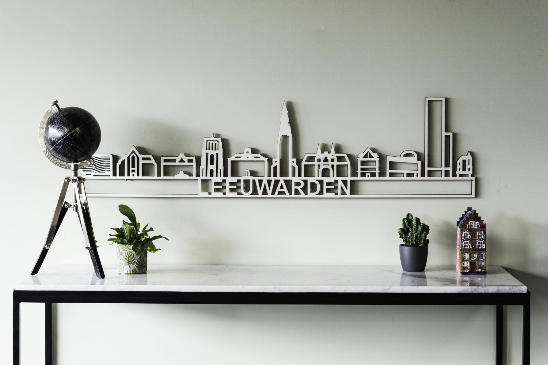 Houten skyline Leeuwarden
