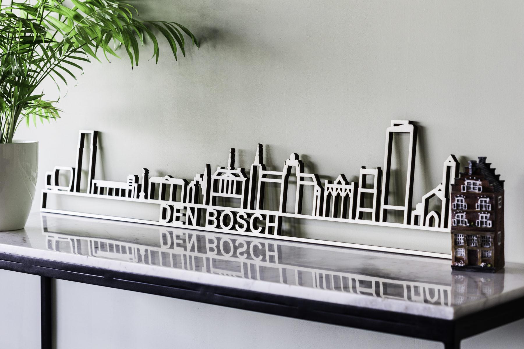 Skyline Den Bosch hout