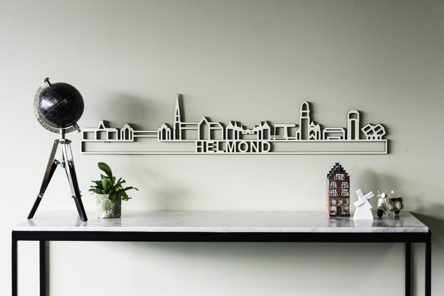 Houten skyline Helmond