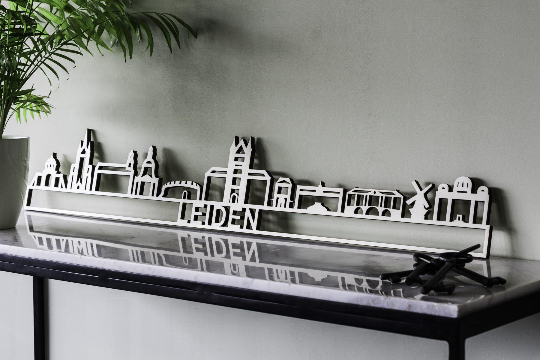 Skyline Leiden hout