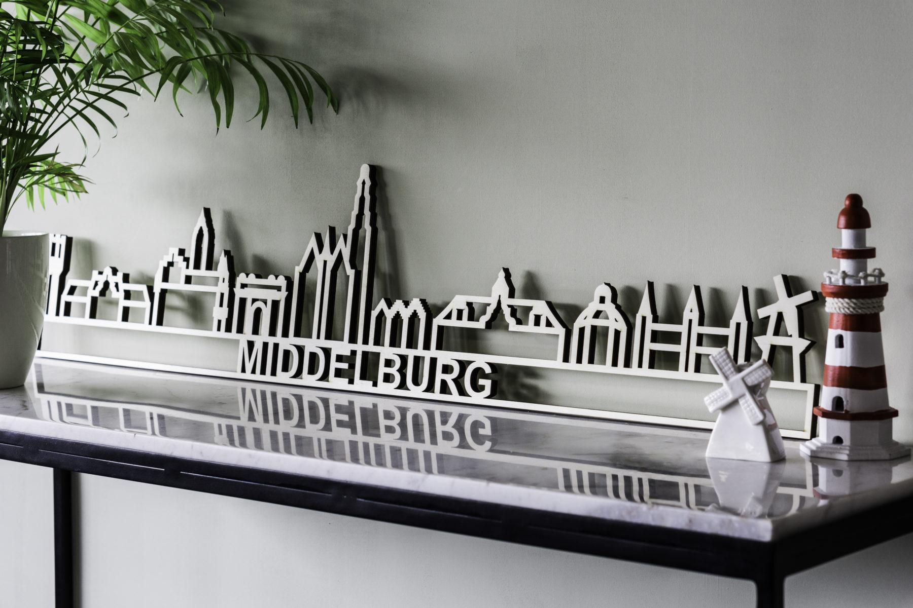 Skyline Middelburg hout