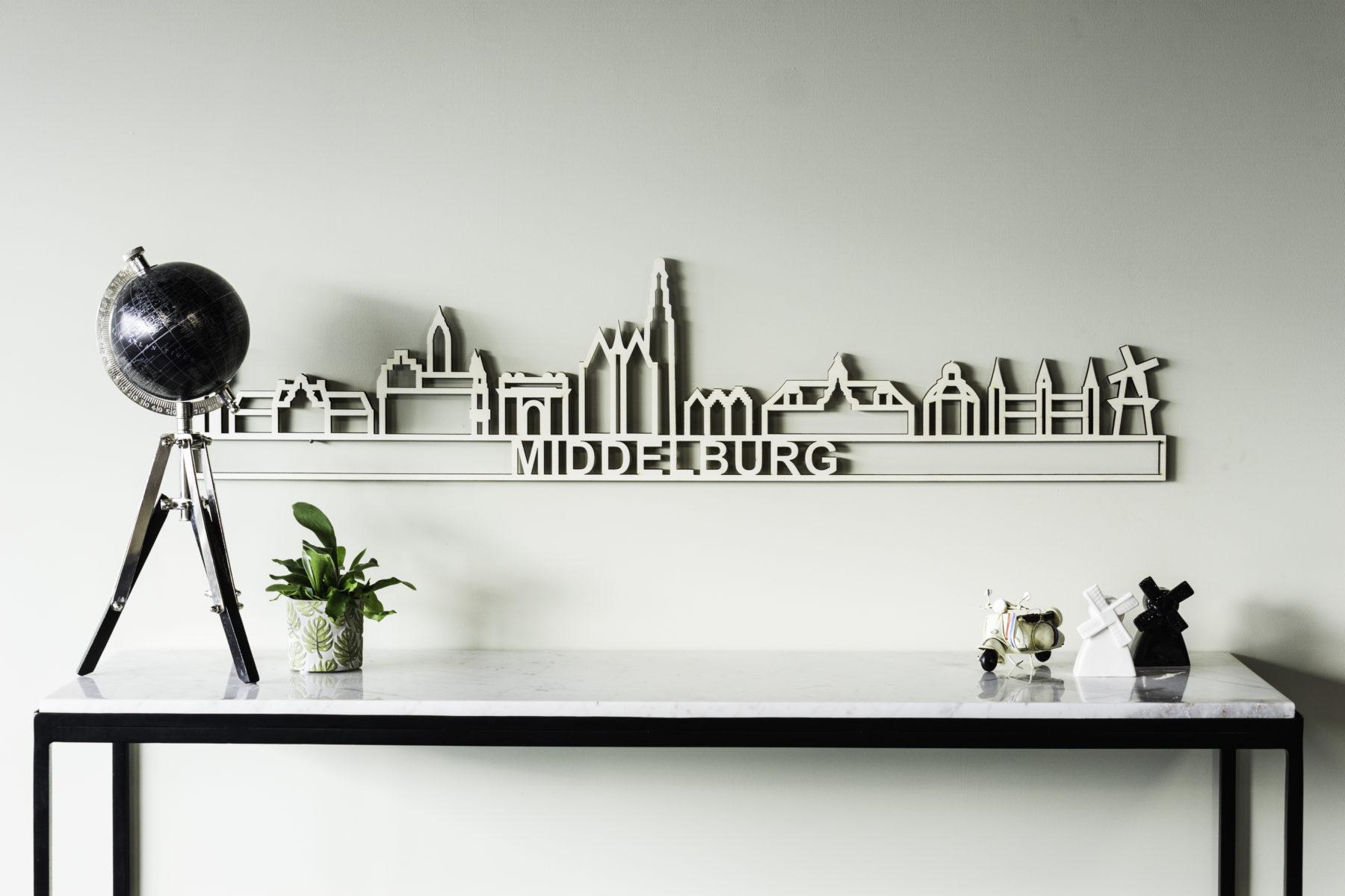 houten skyline Middelburg