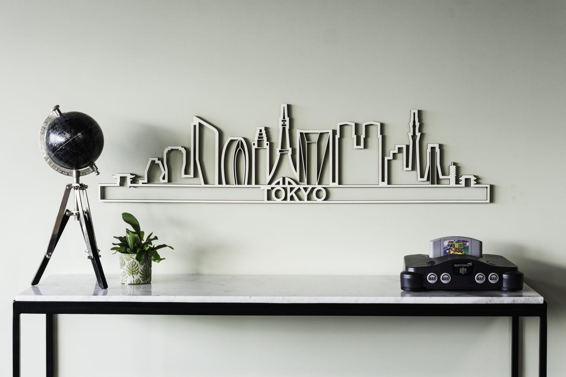 Houten skyline Tokyo