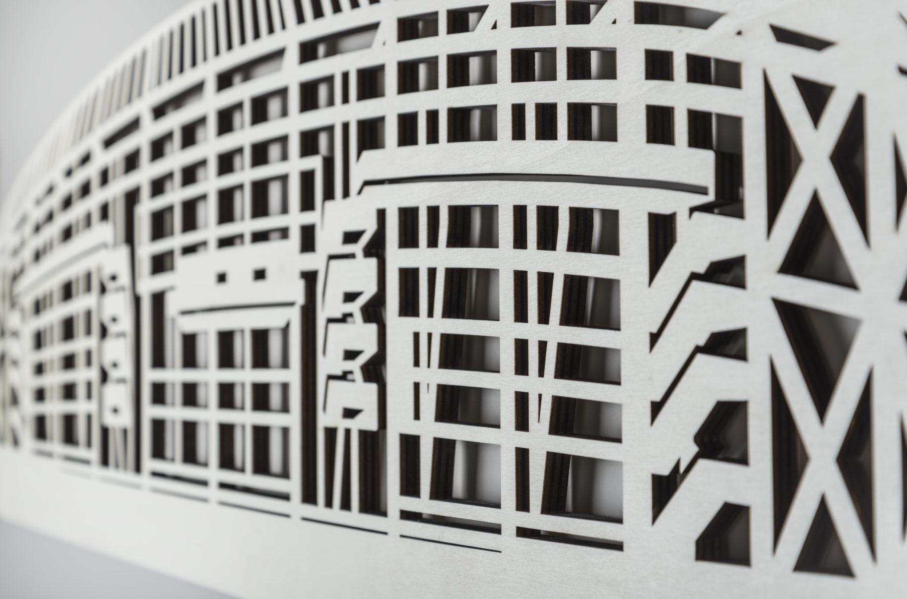 De Kuip detail hout