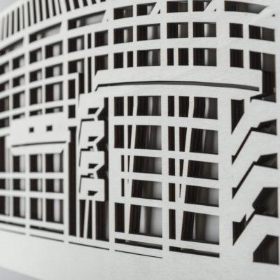 Stadion Rotterdam vooraanzicht