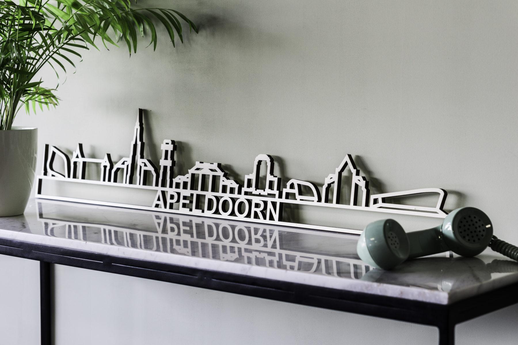 Skyline Apeldoorn hout