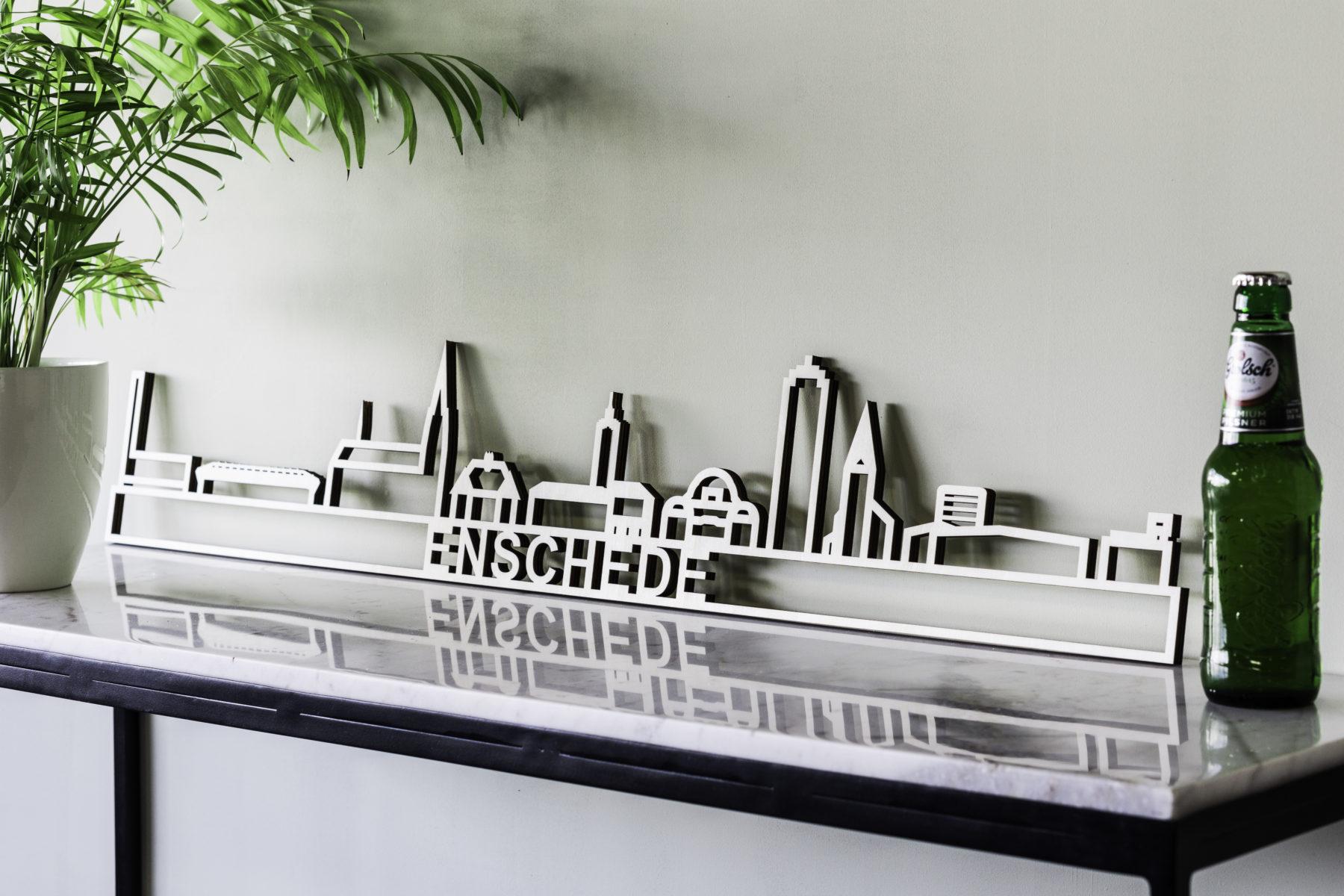 Skyline Enschede hout
