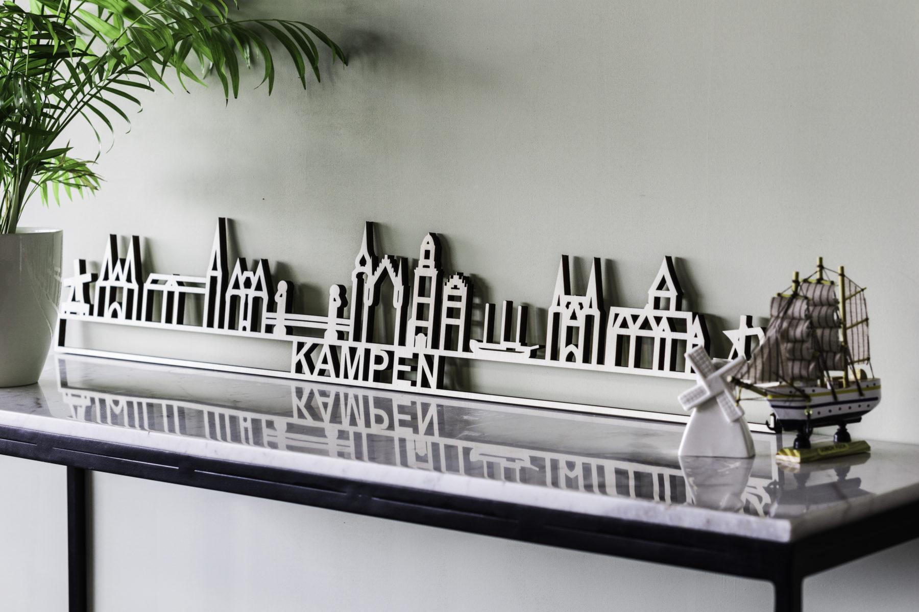 skyline Kampen hout