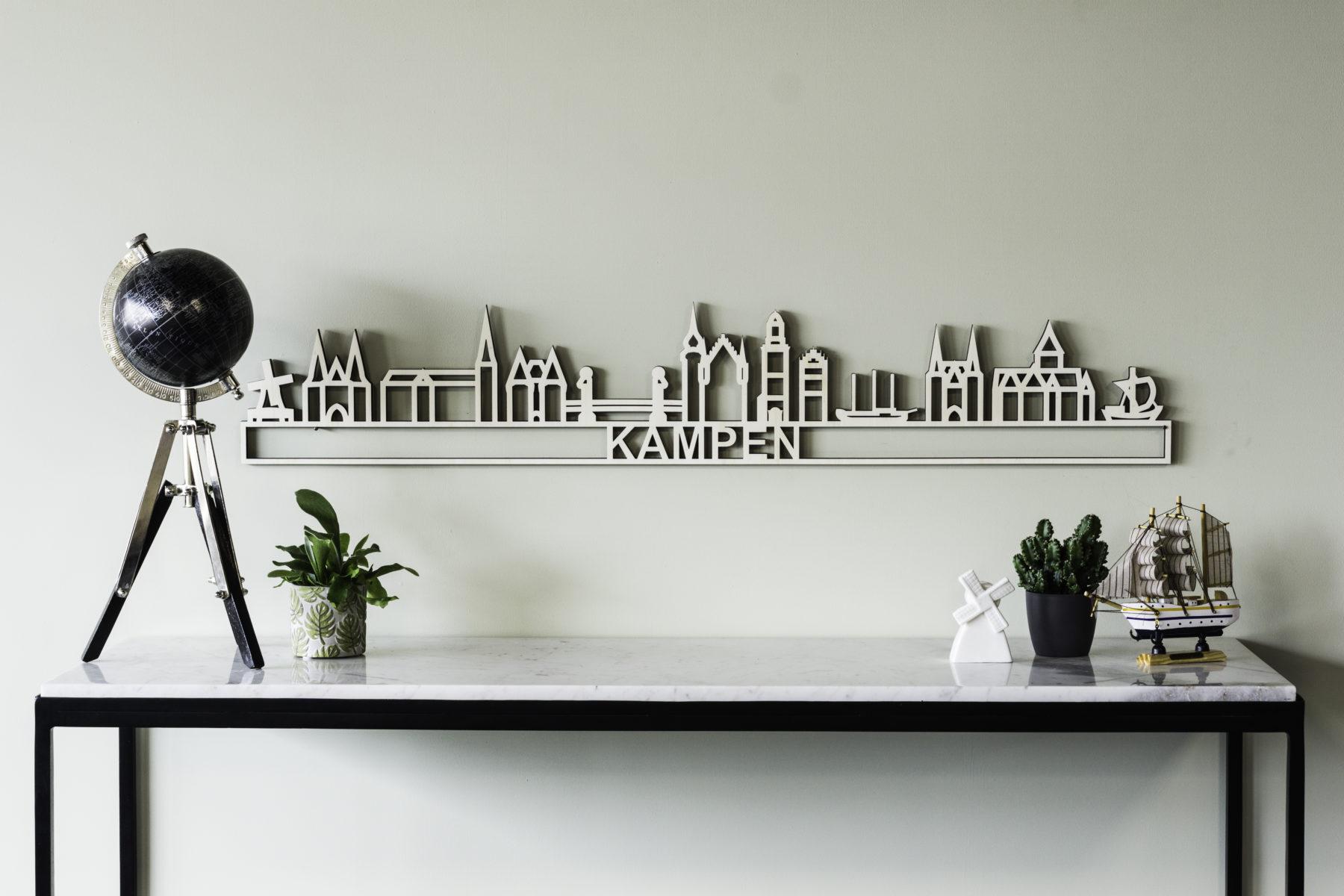 Houten skyline Kampen