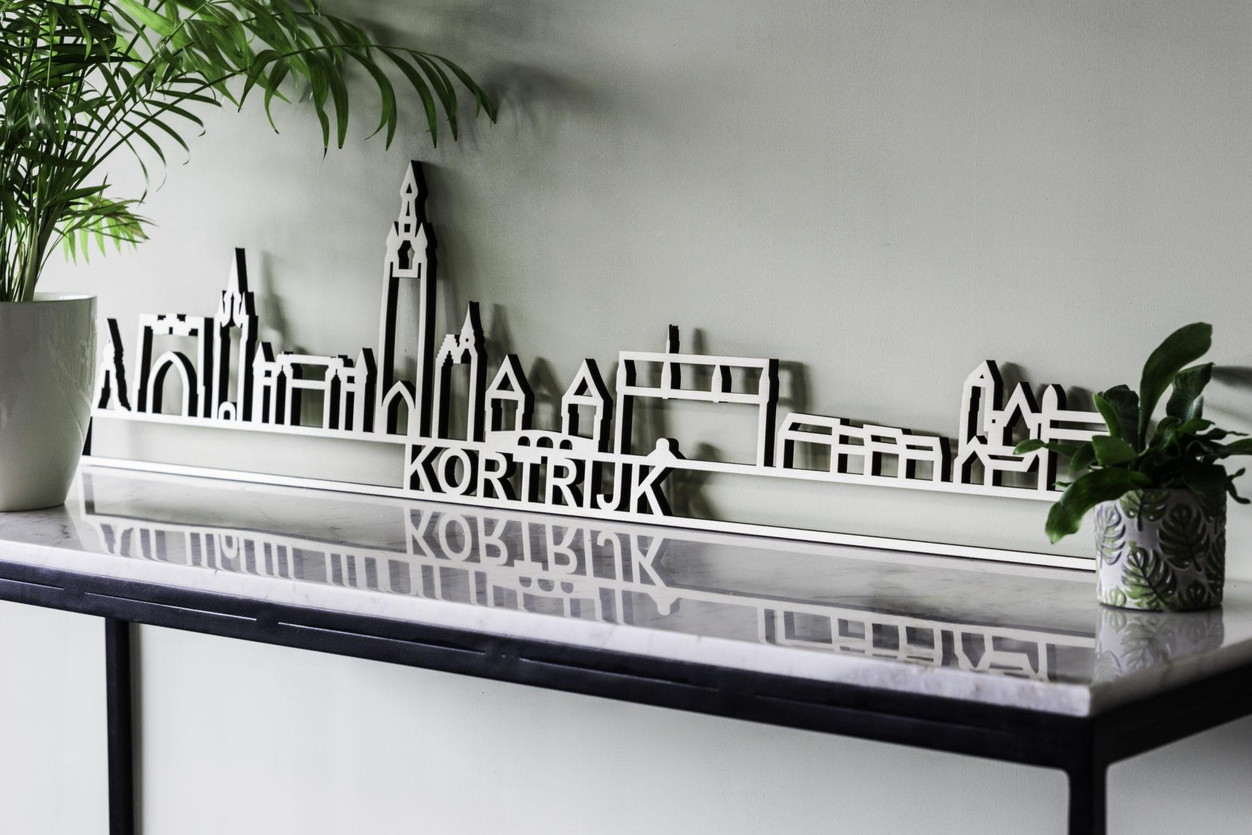 Skyline Kortrijk hout