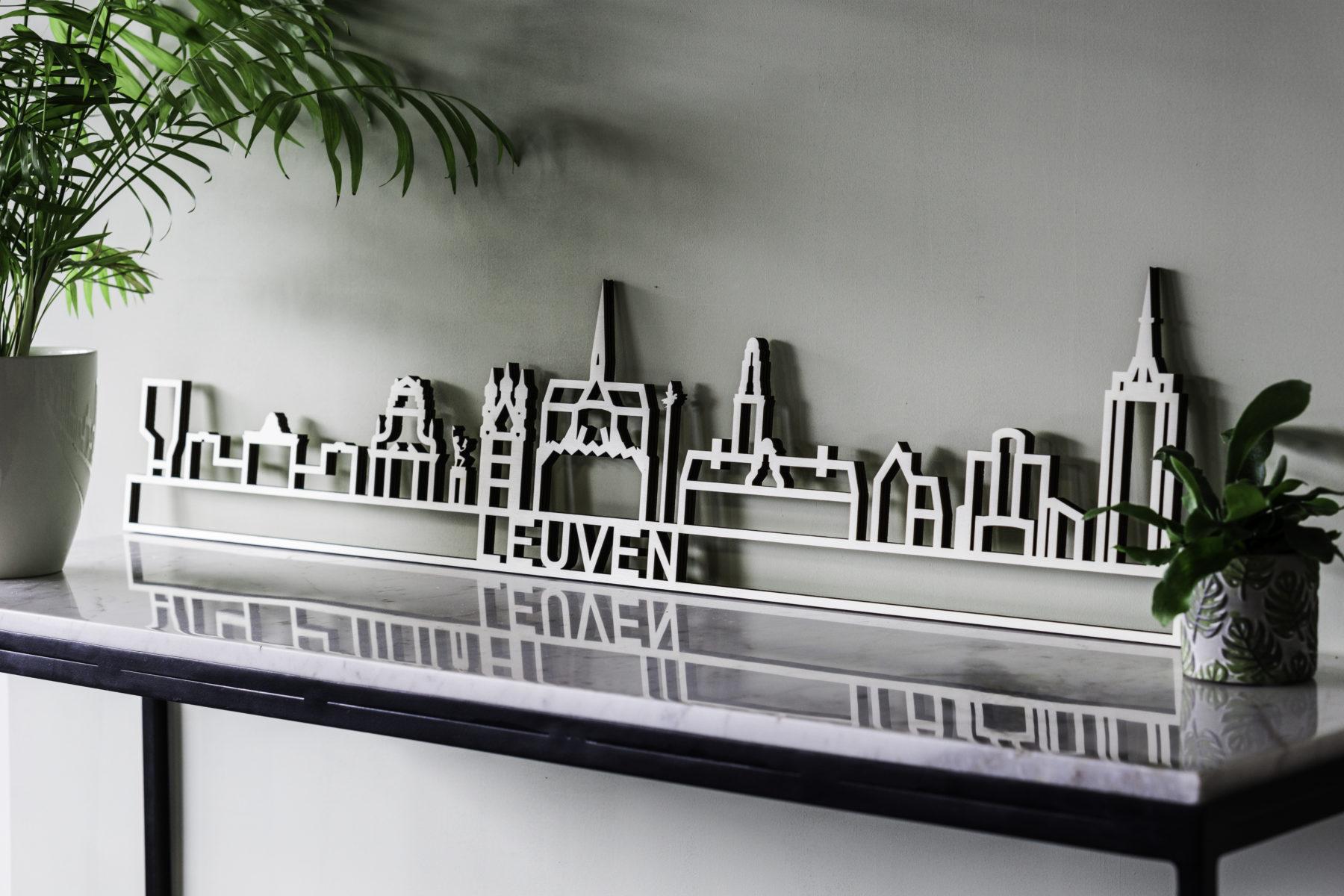Skyline Leuven hout