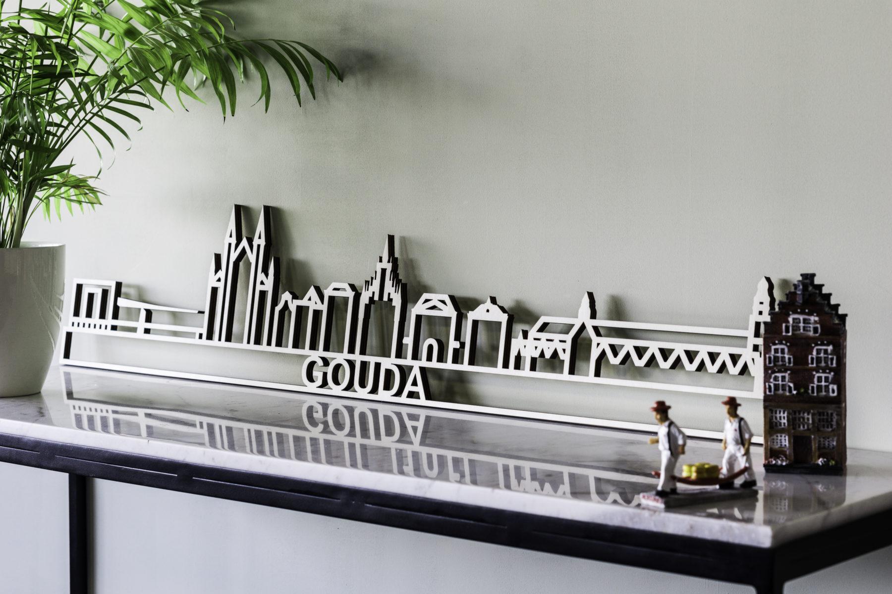 Skyline Gouda hout