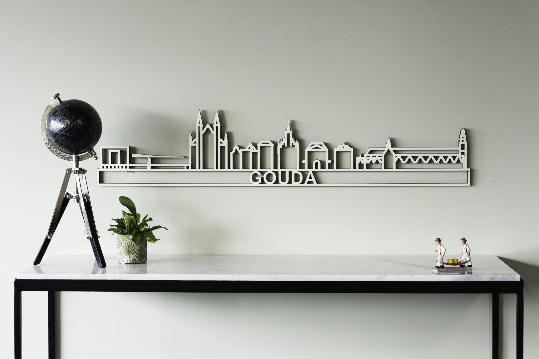 Houten skyline Gouda