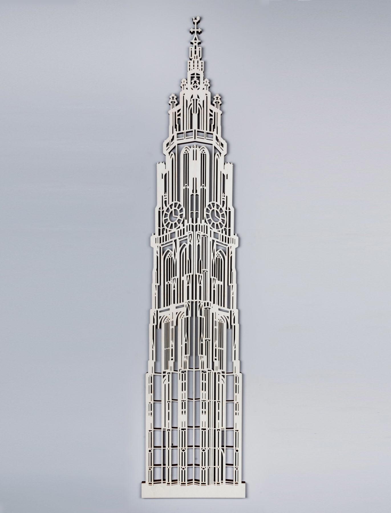 Kathedraal Antwerpen hout