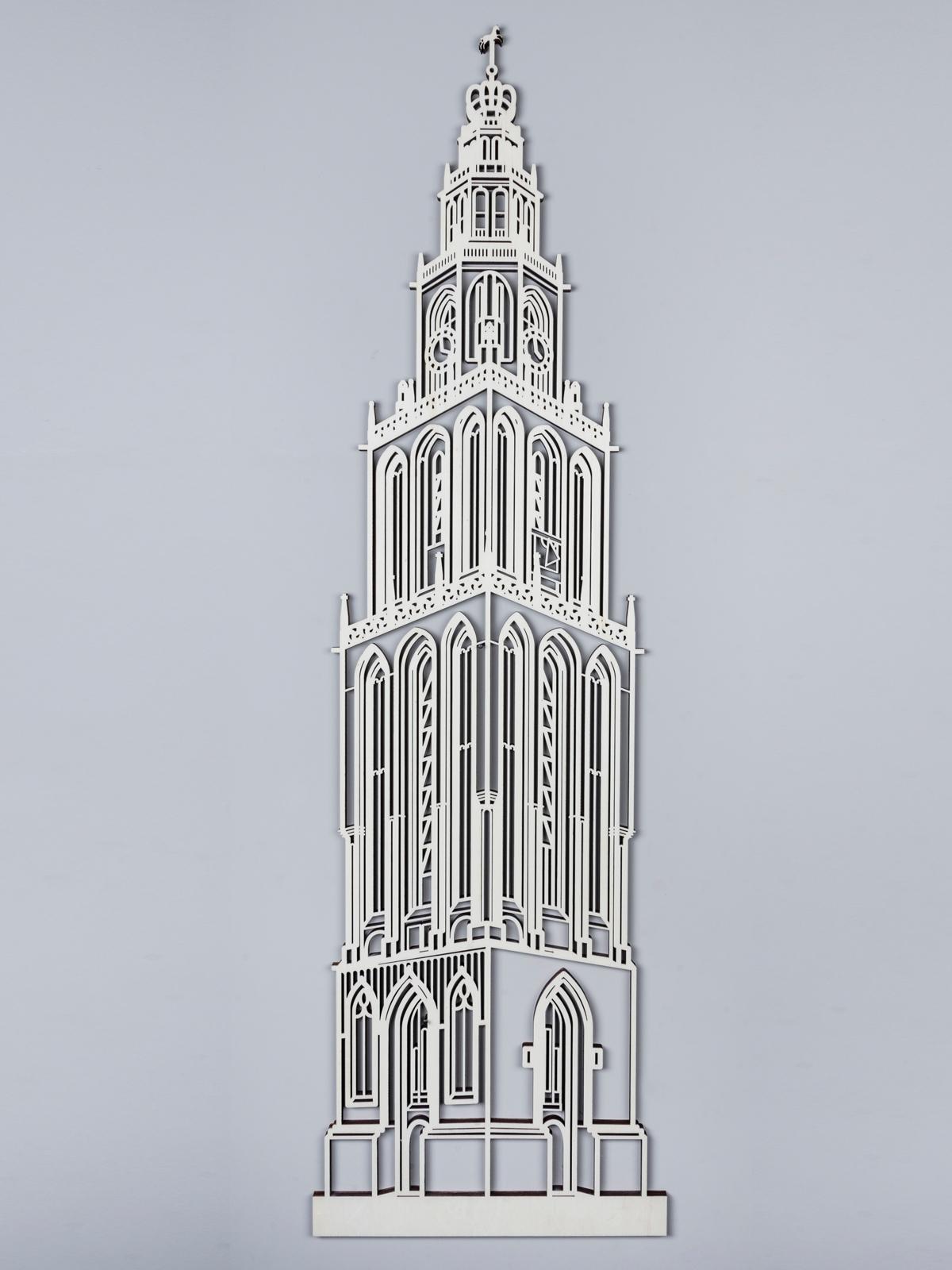 Martinitoren Groningen hout