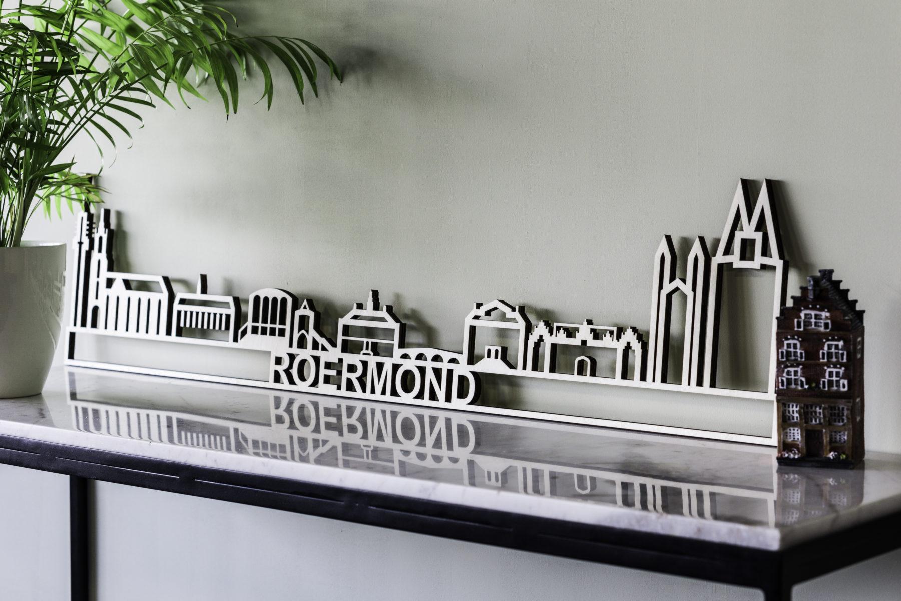 Roermond skyline hout