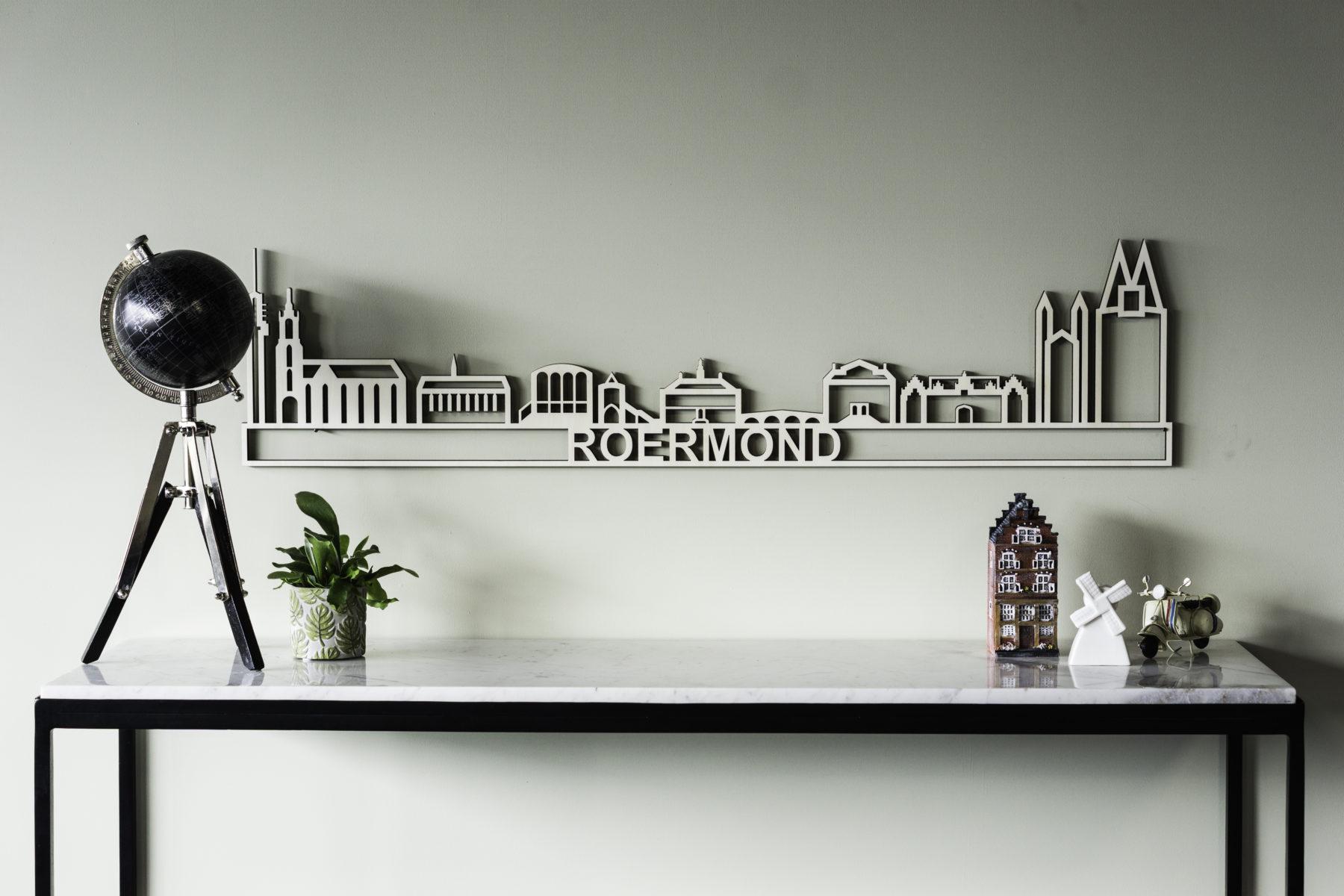 Houten skyline Roermond