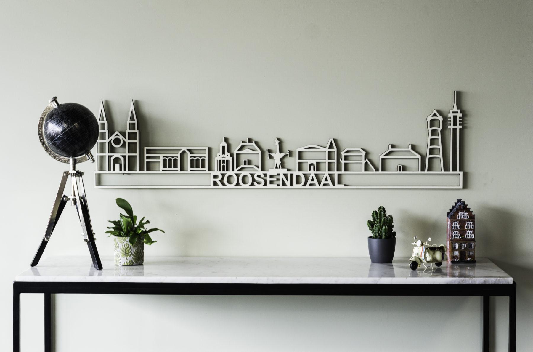 Houten skyline Roosendaal