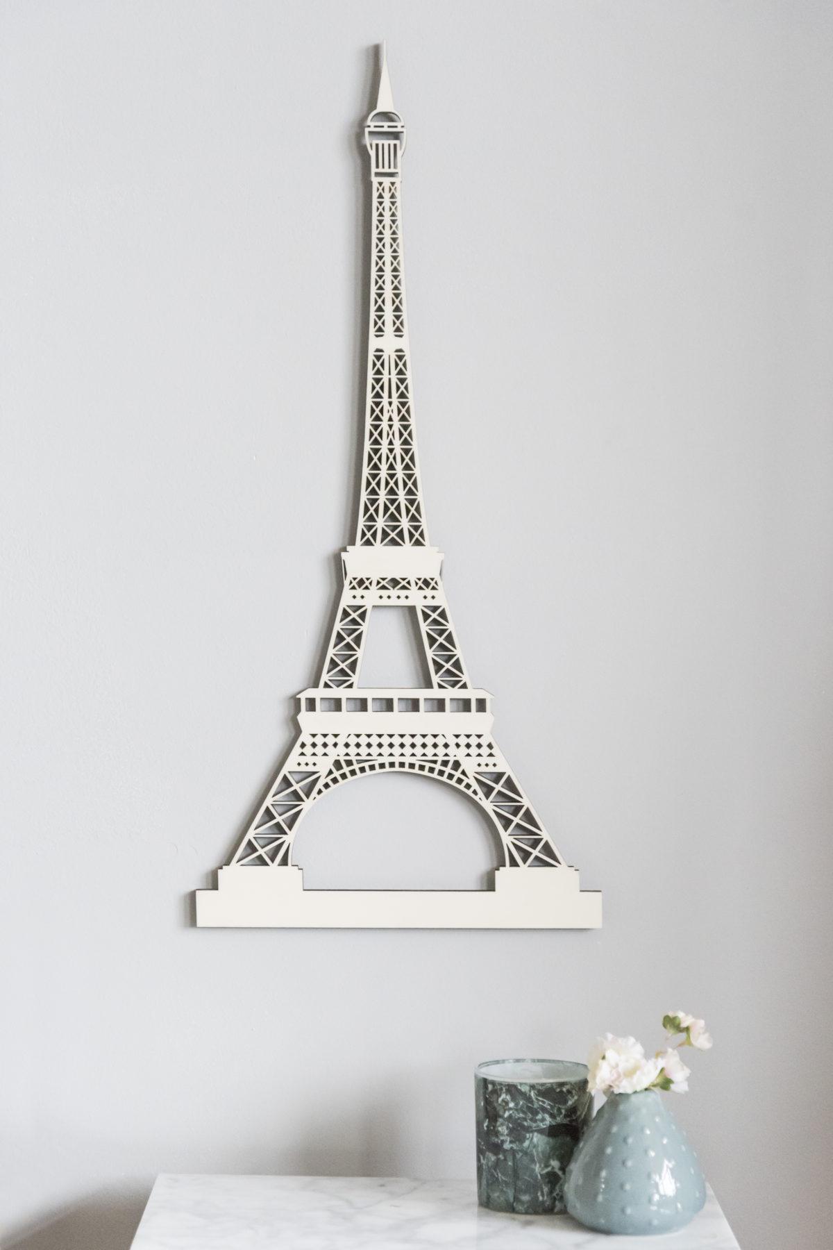 Eiffeltoren Parijs hout