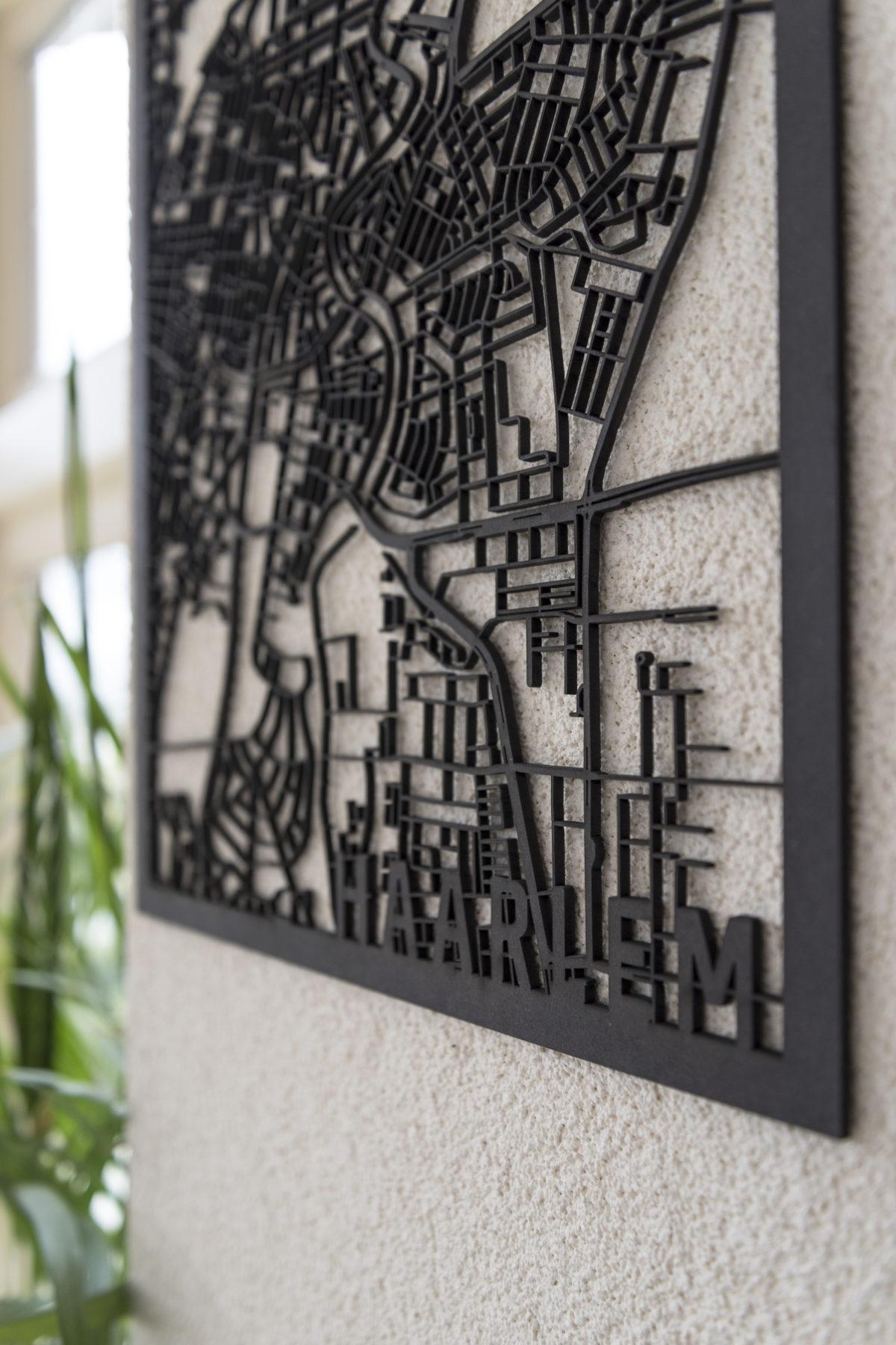 Stadskaart Haarlem detail