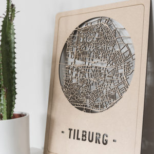 Citymap Tilburg