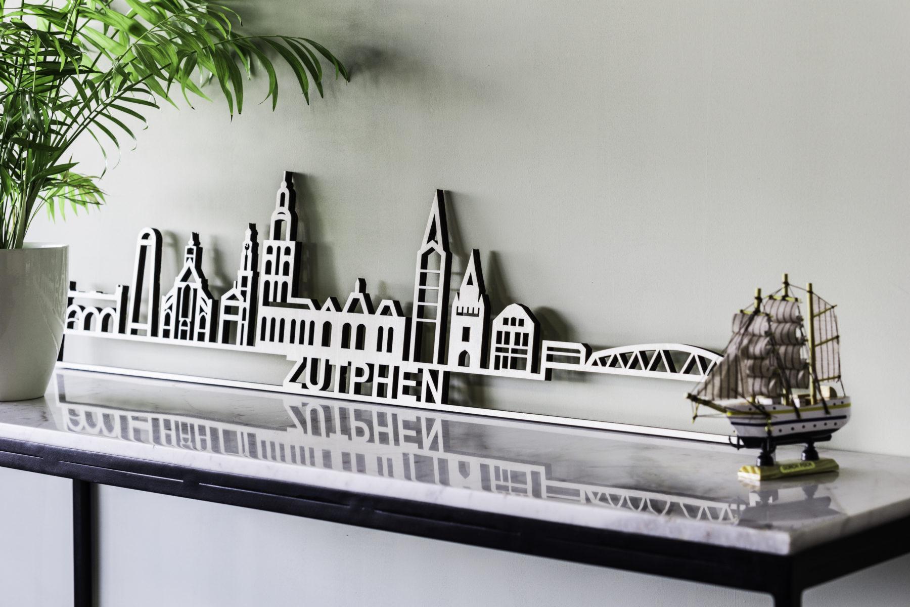 Skyline Zutphen hout