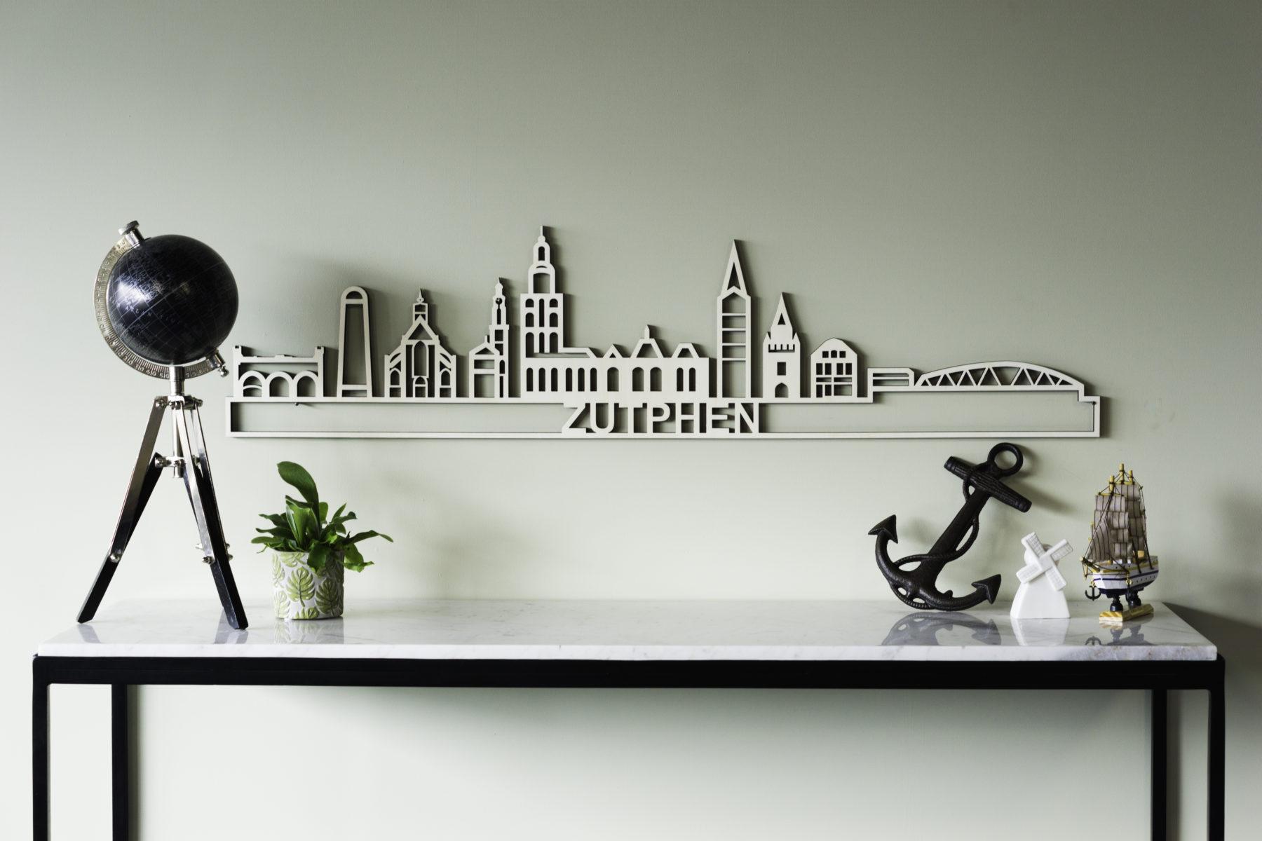 Houten skyline Zutphen