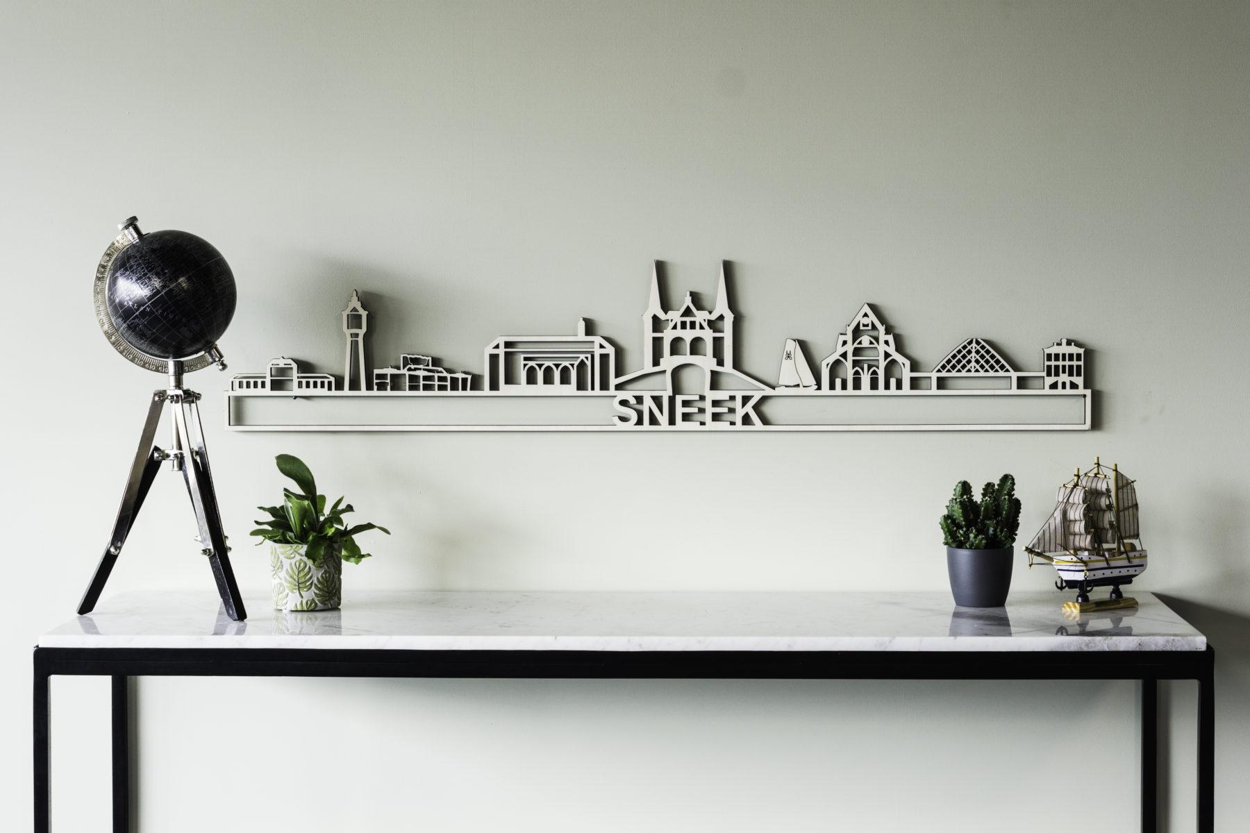 Houten skyline Sneek