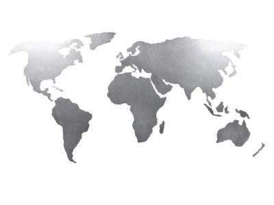 RVS wereldkaart