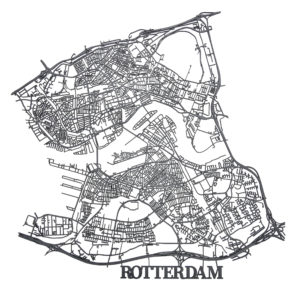 Vingerafdruk Rotterdam