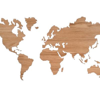 Sticky worldmap eiken