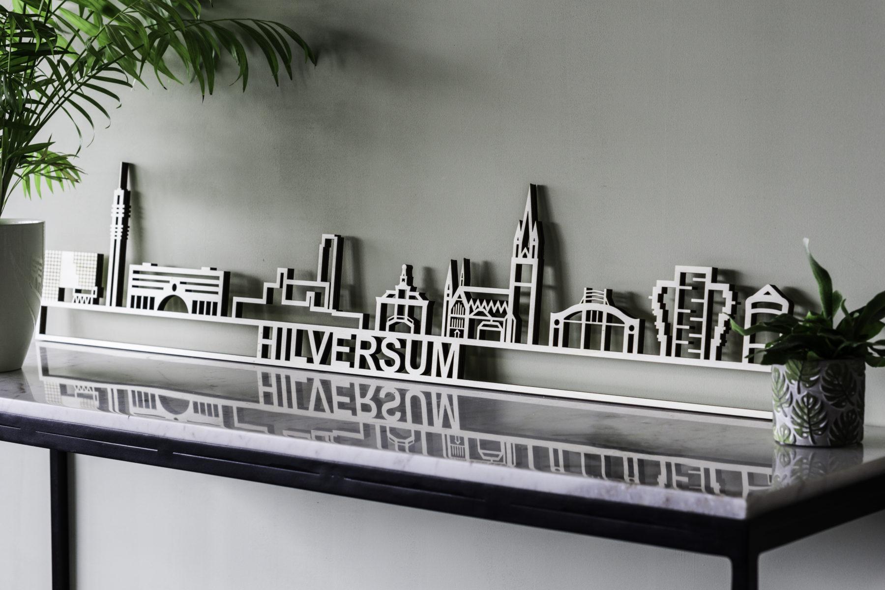 Skyline Hilversum hout
